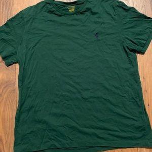 Large men's polo shirt